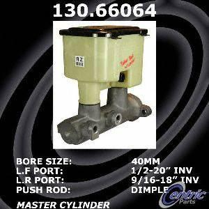 Centric Parts 130.66064 Brake Master Cylinder