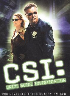 CSI Crime Scene Investigation   The Complete Third Season DVD, 2004, 6