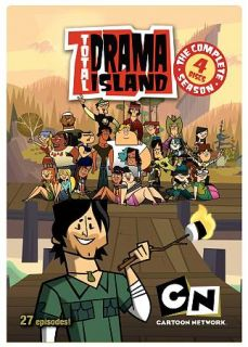 Total Drama Island   Complete Season DVD, 2009, 4 Disc Set