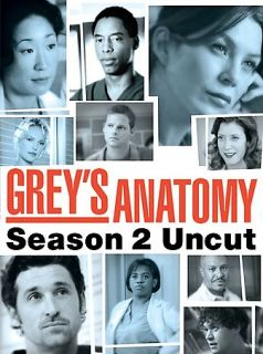 Greys Anatomy   Season 2 Uncut DVD, 2006, 6 Disc Set