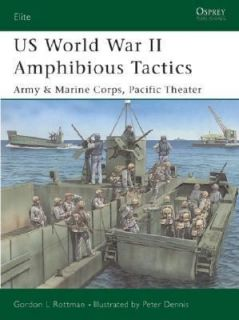 Us World War II Amphibious Tactics Army and Marine Corps, Pacific