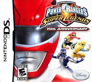 Power Rangers Super Legends Nintendo DS, 2007