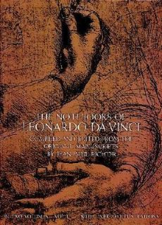 The Notebooks of Leonardo da Vinci Vol. 1 1970, Paperback, Reprint