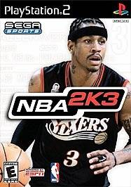 NBA 2K3 Sony PlayStation 2, 2002