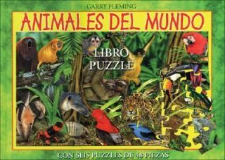 Animales del Mundo Libro Puzzle by Garry Fleming 2007, Paperback