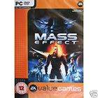 MASS EFFECT PC XP/VISTA (DVD ROM) RETAIL SEALED NEW
