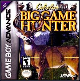 Cabelas Big Game Hunter 2002 Nintendo Game Boy Advance, 2002