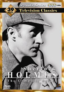 Sherlock Holmes   The Complete Series 39 Episodes DVD, 2005, 5 Disc