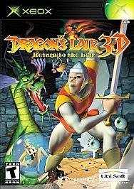 Dragons Lair 3D Return to the Lair Xbox, 2002