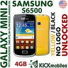 Samsung Galaxy mini 2 S6500 4GB Int Black Yellow + BLUETOOTH FEDEX