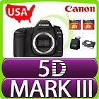EOS 5D Mark III Digital SLR Camera Body 22.3 MP Full Frame + 16 GB USA