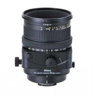 Nikon PC Micro Nikkor D 85 mm F 2.8 Lens