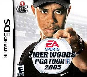 Tiger Woods PGA Tour 2005 Nintendo DS, 2004