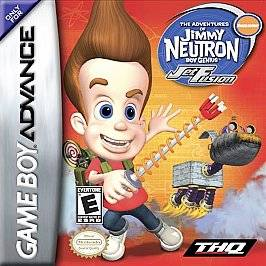 Neutron, Boy Genius Jet Fusion Nintendo Game Boy Advance, 2003