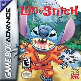 Lilo Stitch Nintendo Game Boy Advance, 2002