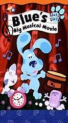 Blues Clues   Blues Big Musical Movie VHS, 2000