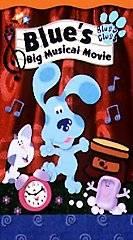 Blues Clues   Blues Big Musical Movie VHS, 2000