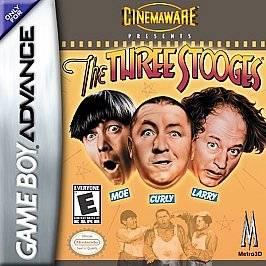 The Three Stooges Nintendo Game Boy Advance, 2002