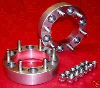 Toyota  6 lug  4x4  6061 T6  WHEEL SPACERS  ADAPTERS