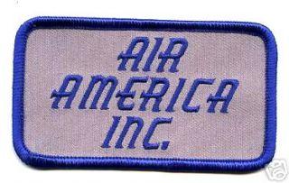 WAR NAM ERA CIA SPY OPERATION AIR CARRIER AIR AMERICA CHEST ID PATCH