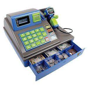 Talking Cash Register Zillionz With Cool Sounds & High Tech Scanner
