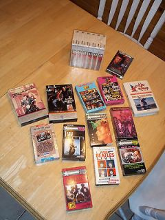 VTG SONY MTV Movies Music TAPES BLANK BETA CASSETTES 4 Player MGM RCA