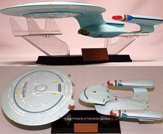 Aoshima Skynet Star Trek USS Enterprise NCC 1701 D 1/2000 Scale Model