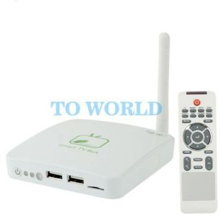 HD Android OS 4.0 TV Set Top Box Media Player WIFI RJ45 HDMI1.3 USB