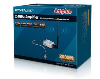 Long Distance Wireless Internet High Gain Booster 1W/30dBm Signal Up