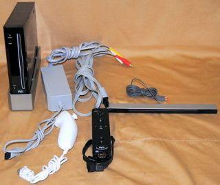 Nintendo Wii Black Console RVL 001 (NTSC)