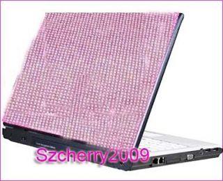 Notebook Laptop Bling Rhinestone Crystal Sticker Skin