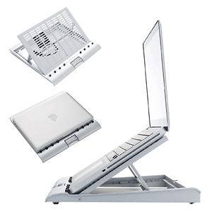 Adjustable Notebook Laptop Cooler Cooling Stand Pad MacBook Air HP