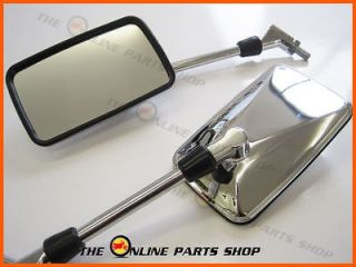 Pair Of Quality Chrome Wing Mirrors To Fit Husqvarna SMR511 SMR 511