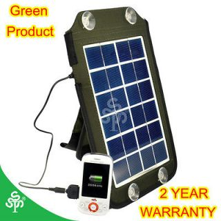 Newly listed 5W Portable Solar Panel Power Charger for Mobile Device