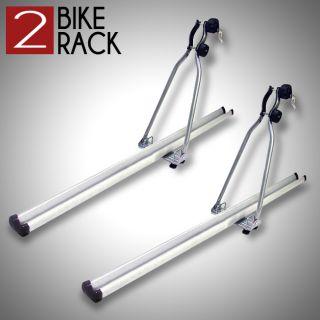 Bike Bicycle Carrier Rack Roof Mount Rooftop Upright Car SUV Van