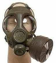 RARE Canadian ARMY Military C 4 Gas Mask Respirator W/FILTER Size XS