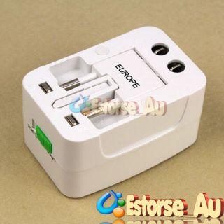 Universal Travel Multi purpose AC Power Adapter Plug AU/UK/US/EU