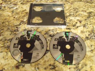 DRIVER 2 CAR SIMULATION PS1 PS2 SONY PLAYSTATION PLAY STATION 1 2 GAME