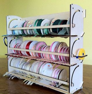 NEW* JUMBO Ribbon Ring storage organizer rack holder tags
