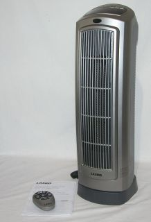 755320 Portable Free Standing 1500W Ceramic Tower Space Heater Remote