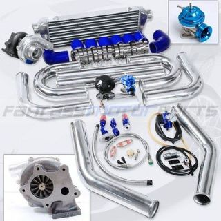 UNIVERSAL T3 T04E T3/T4 TURBO KIT .57AR TURBO CHARGER 38MM WASTEGATE