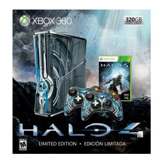 XBOX 360 320GB HDD LIMITED EDITION CONSOLE HALO 4 BUNDLE NEW SEALED