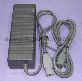 XBox 360 Original AC Adapter Brick With Power Cord 150W Test Working