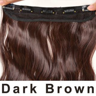 dark brown hair extensions in Womens Hair Extensions