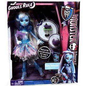 Monster High Ghouls Rule Abbey Bominable Doll 2012 DVD Series