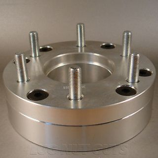 BILLET WHEEL ADAPTERS 5x4.5 to 6x5.5 2 THICK SPACERS 5 LUG to 6 LUG