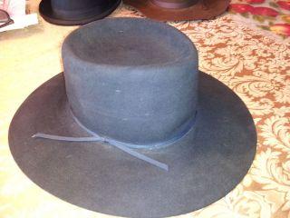 VTG BAILEY 5X BEAVER COWBOY WESTERN HAT 7 3/8
