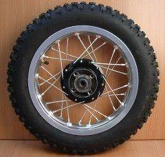12 Rear Wheel Tire Rim Assy Wheels 110cc 125cc Pit Dirt Bike 3.00 12