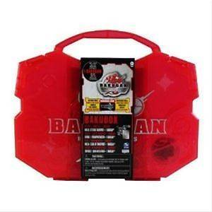 Bakubox Gundalian Invaders Red Carry & Storage Case & 1 Bakugan   New
