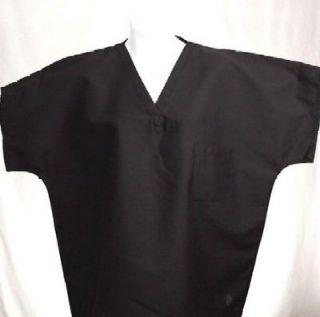 CHARCOAL GRAY Reversible Scrub Top XL XLARGE Medical Nursing Scrubs